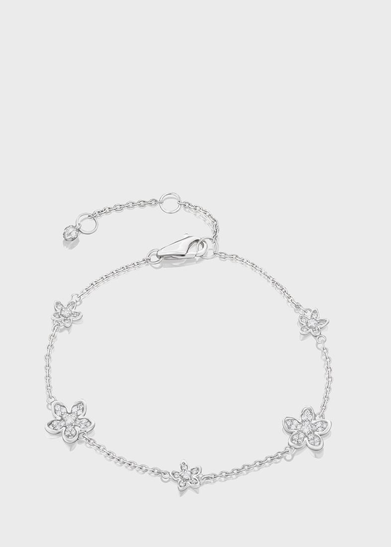Браслет Art Vivace Jewelry Сирень с бриллиантами