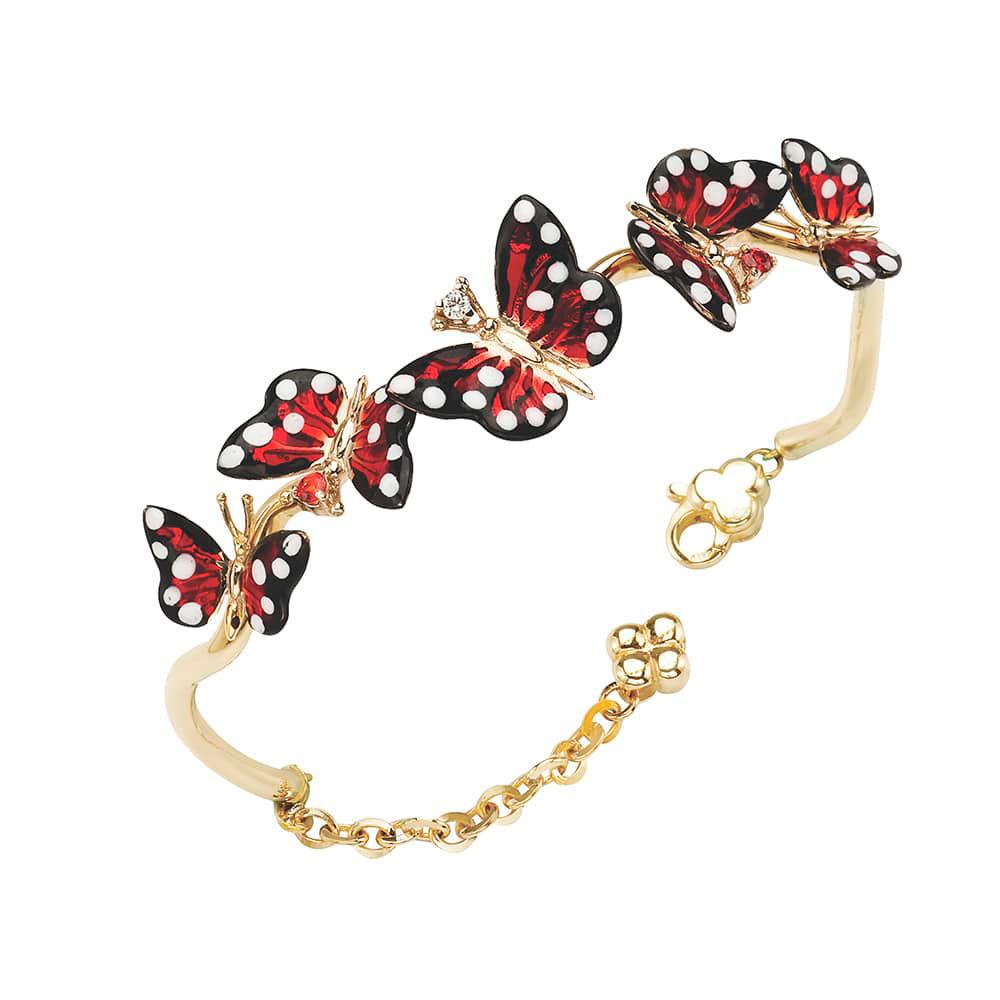 Браслет Roberto Bravo Monarch Butterfly с подвеской-бабочкой