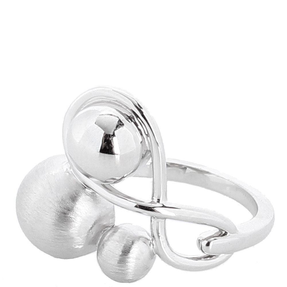 Серебряное объемное кольцо Elisabeth Landeloos