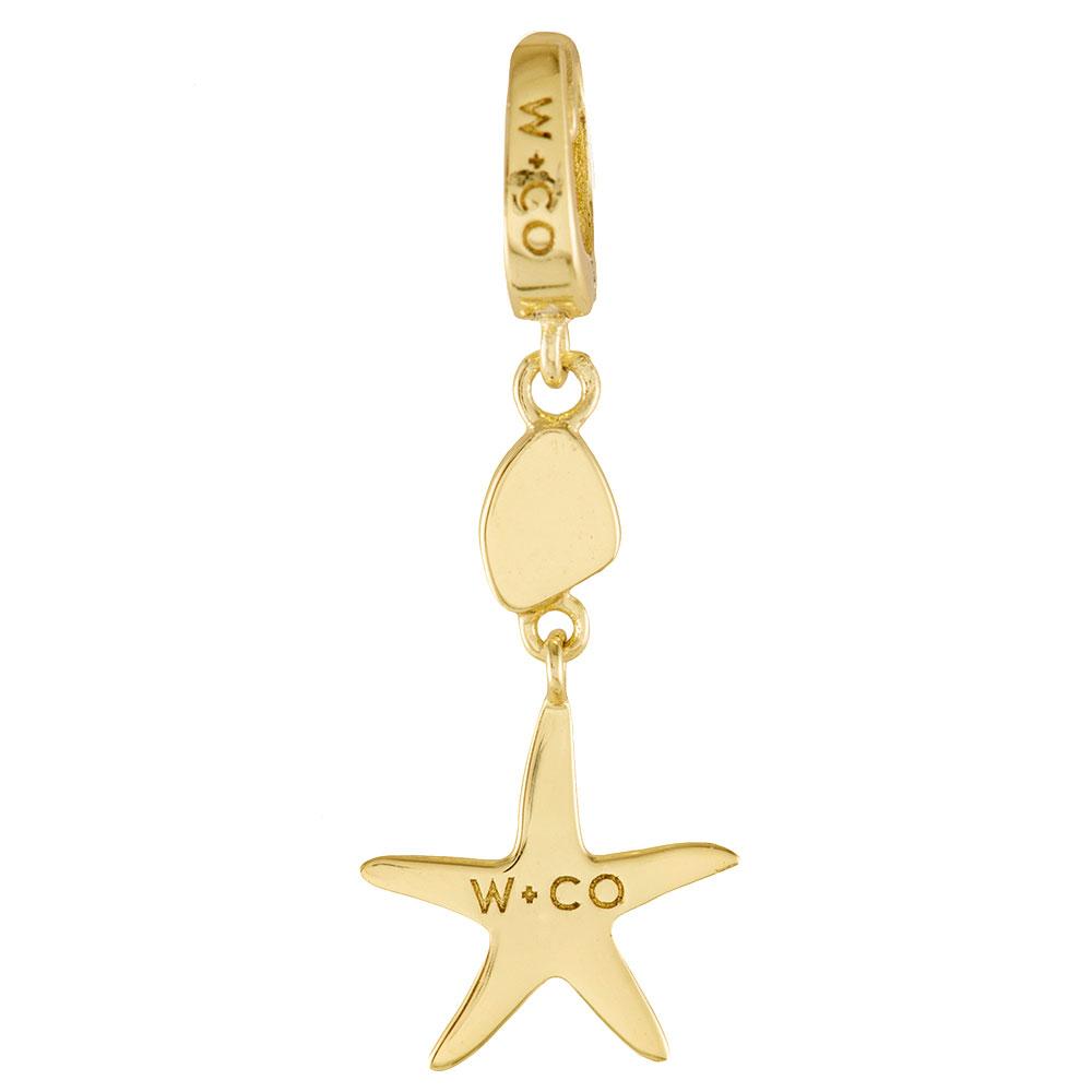 Подвеска Wanderlust + Co Make It Yours Starfish Charm в форме морской звезды