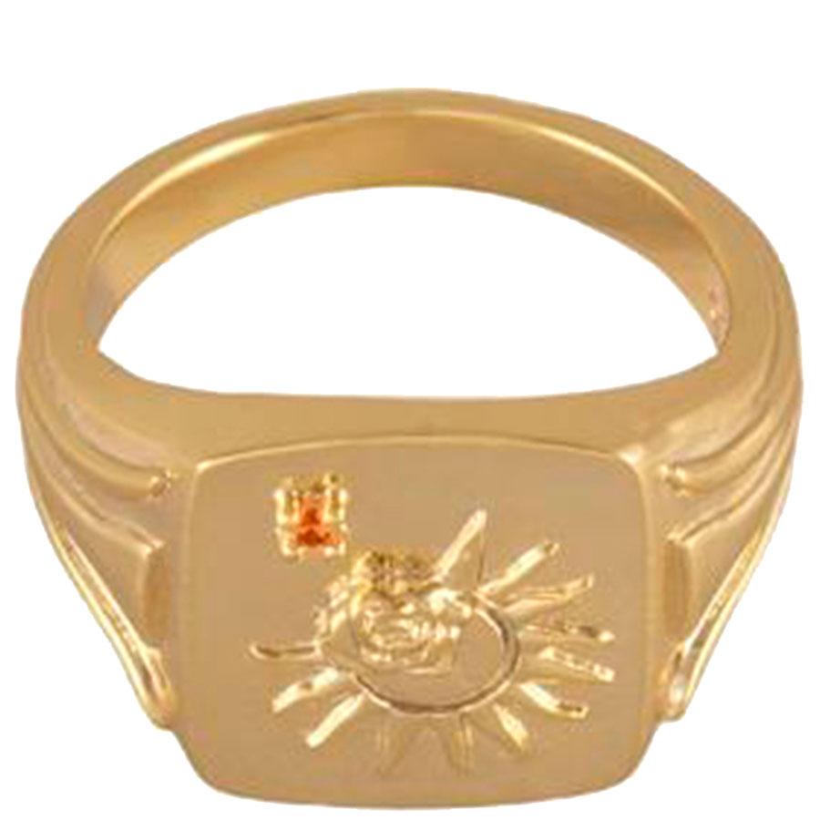 Перстень Wanderlust + Co Reverie Solis с символом солнца