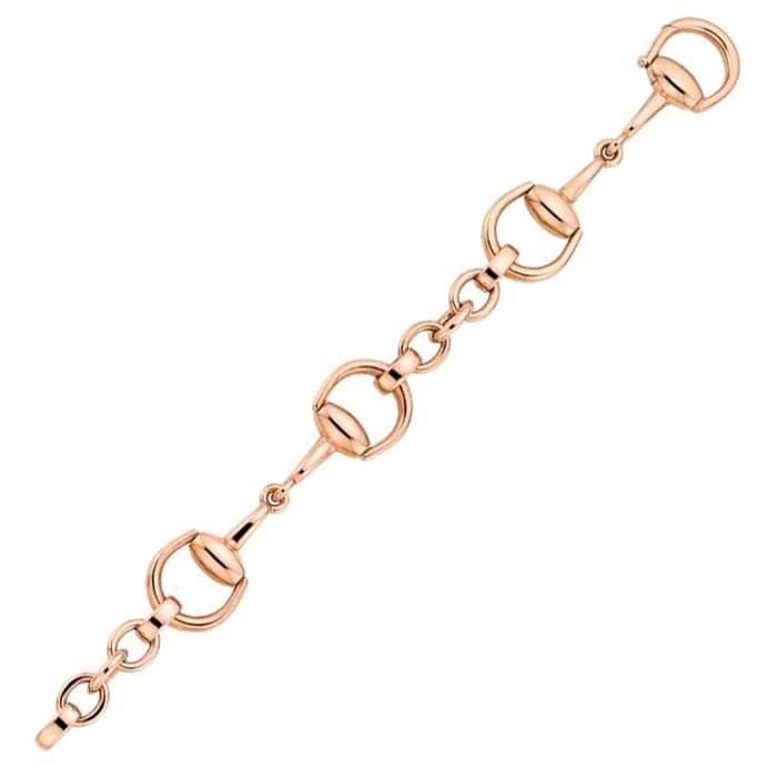 Браслет Gucci Horsebit из розового золота