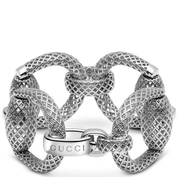 Браслет Gucci Horsebit из серебра