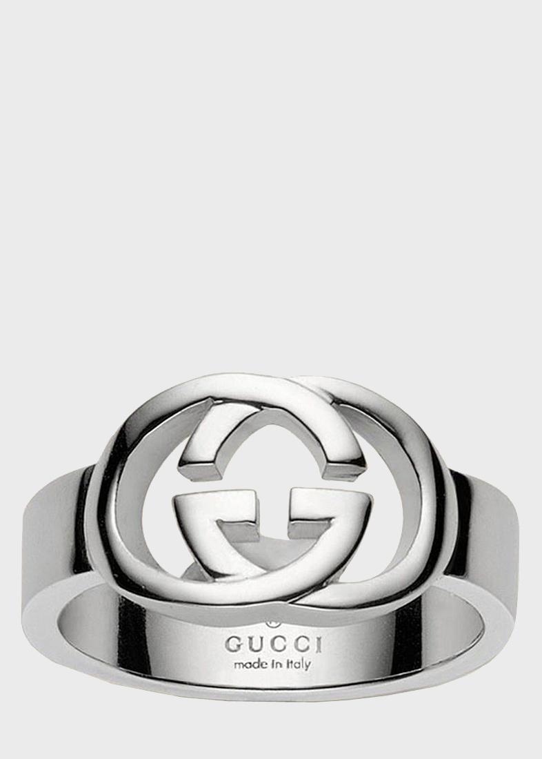 Кольцо Gucci из серебра Silver Britt (slim version)