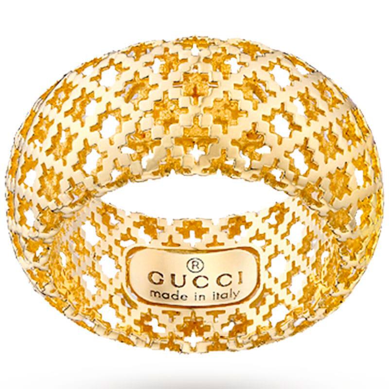 Кольцо Gucci Diamantissima из желтого золота