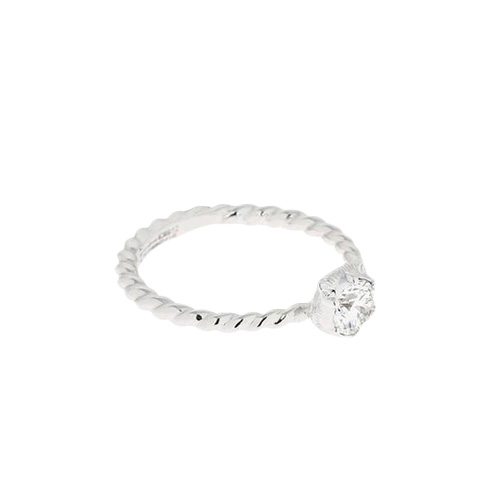 Кольцо  Gucci Le Marche des Merveilles из белого золота с алмазом по центру