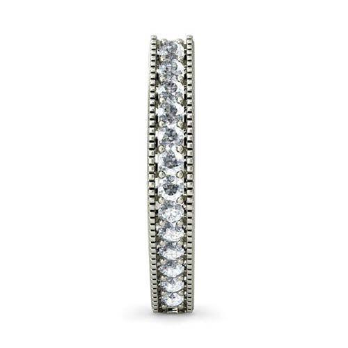 Серьги из белого золота Kiev Jewelry Arva с бриллиантами 000703-1046329, фото