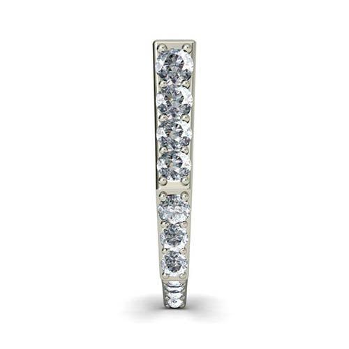 Серьги из белого золота Kiev Jewelry Dawn с бриллиантами 000726-1046400, фото