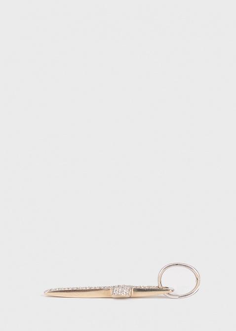 Крестик из белого золота Baraka Diamonds, фото