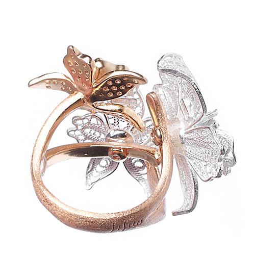 Женское кольцо Misis Marisol с цветами, фото