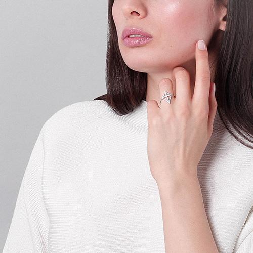Женское кольцо APM Monaco с цирконами, фото