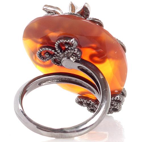Кольцо Misis Minervia с крупным агатом, фото