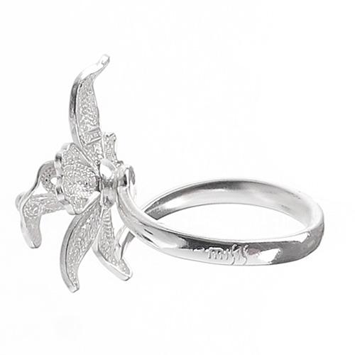 Женское кольцо Misis Marisol с орхидеей, фото
