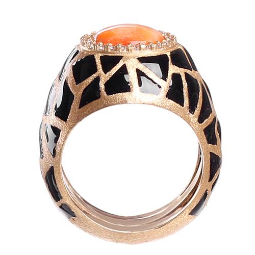 Кольцо Misis Artemide с цирконами, фото