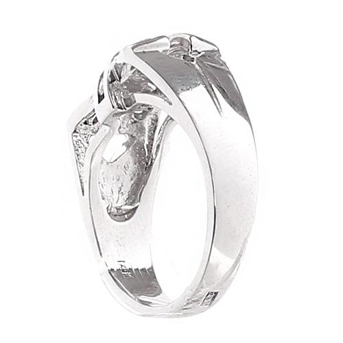 Кольцо женское David Brodsky в виде банта, фото