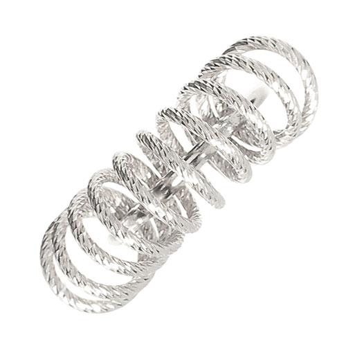 Серебряное кольцо Fraboso с декором-спиралью, фото
