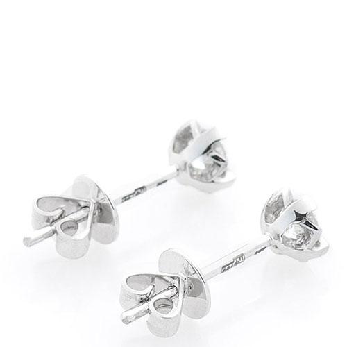 Серьги-пусеты Оникс золотые с бриллиантами, фото