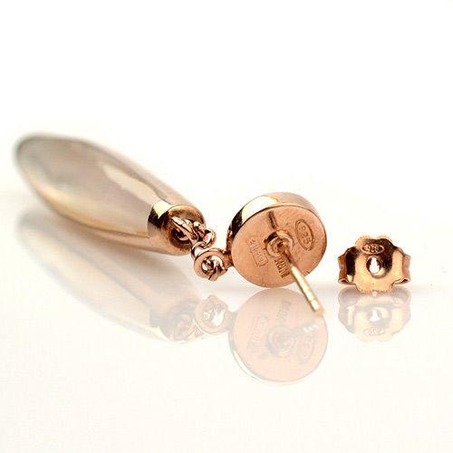 Серебряные серьги Adami Martucci с натуральным перламутром, фото