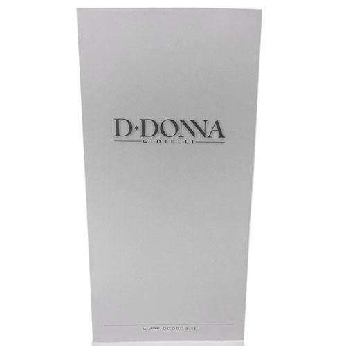 Подвеска круглой формы D-Donna Ruggero Broggian Onde из белого золота с бриллиантами, фото