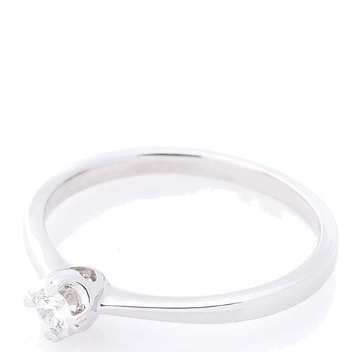 Помолвочное кольцо Оникс с белым бриллиантом, фото