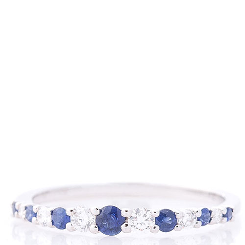 Женское золотое кольцо Оникс с сапфирами и бриллиантами, фото