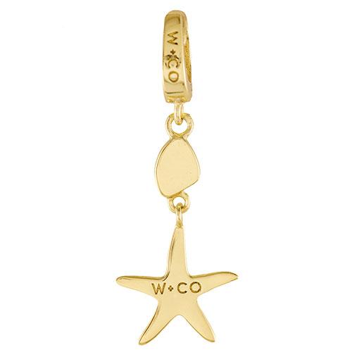 Подвеска Wanderlust + Co Make It Yours Starfish Charm в форме морской звезды, фото
