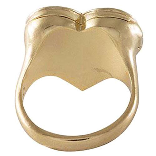 Перстень-медальон Wanderlust + Co Wild at Heart Harlow Locket, фото