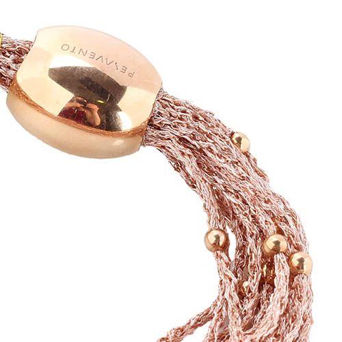 Браслет  Pesavento из серебряных нитей в позолоте, фото