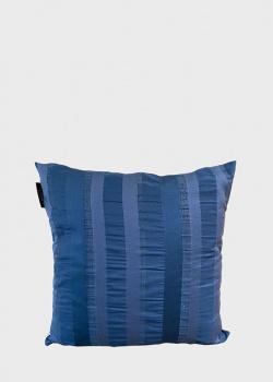 Синяя подушка La Perla Home Platino Cuscino 50х50см, фото