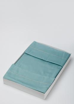 Постельное белье La Perla Home Cleopatra Duvet Cover с бирюзового цвета 200х220см, фото