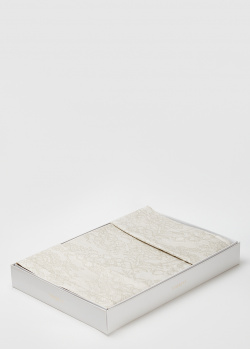 Постельное белье La Perla Home Virginia Duvet Cover белого цвета 200х220см, фото