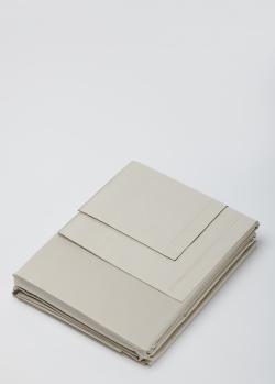Постельное белье Fazzini Home Trecento Duvet Cover серого цвета 200х220см, фото