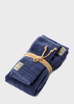 Набор полотенец Fazzini Home Coccola синего цвета 2шт, фото