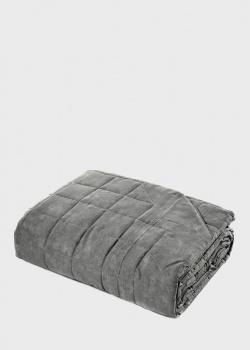 Покрывало-квилт Fazzini Home Galuchat серого цвета 270х270см, фото