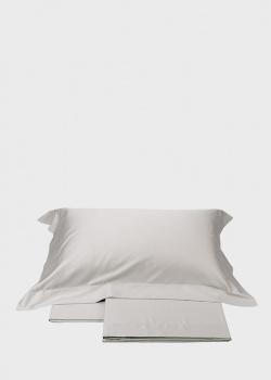 Серое постельное белье La Perla Home Giulia Duvet Cover 220х200см, фото