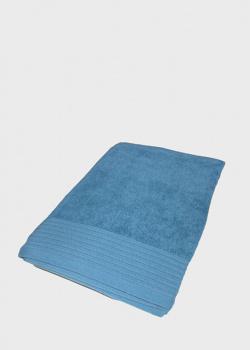Синее полотенце La Perla Home Nervures 100х150см, фото