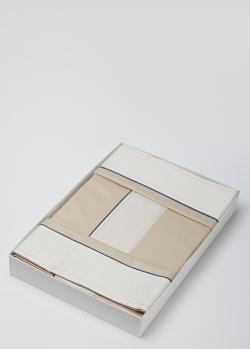 Постельное белье La Perla Home Plisse с контрастными вставками 240х220см, фото
