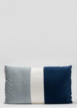 Трехцветная подушка La Perla Home Plisse Cuscino 30х50см, фото