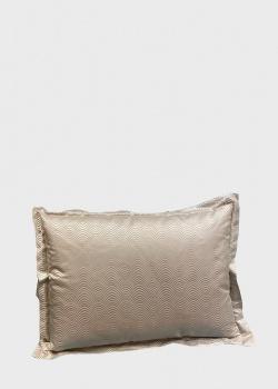 Бежевая подушка La Perla Home Platino Cuscino 40х55см, фото