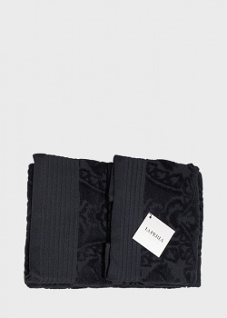 Набор полотенец La Perla Home Lumiere черного цвета 2шт, фото