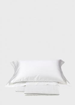 Постельное белье La Perla Home Sfilata Duvet Cover с кружевной отделкой 220х240см, фото