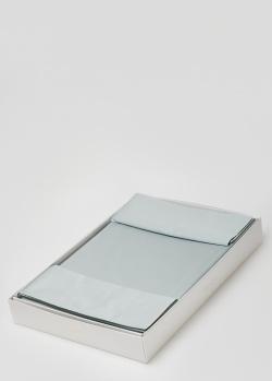 Голубое постельное белье La Perla Home Giulia Duvet Cover 240х220см, фото