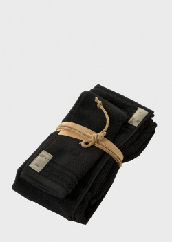 Набор полотенец Fazzini Home Coccola черного цвета 2шт, фото