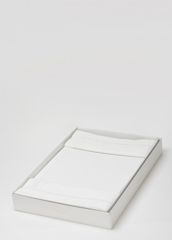 Белое постельное белье La Perla Home Cult Duvet Cover 200х220см, фото