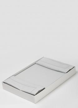 Постельное белье La Perla Home Cult Duvet Cover серого цвета 200х220см, фото