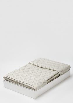 Постельное белье La Perla Home Euclide Duvet Cover серого цвета 220х240см, фото