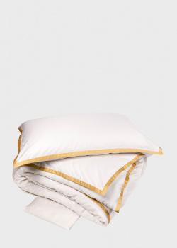 Постельное белье La Perla Home Hellen Duvet Cover с золотистой окантовкой 200х220см, фото
