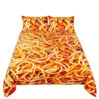 Покрывало Seletti Snakes с принтом спагетти, фото