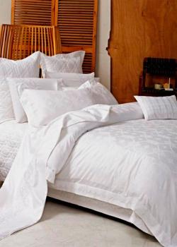 Комплект хлопкового постельного белья Love You Жаккард с орнаментом, фото