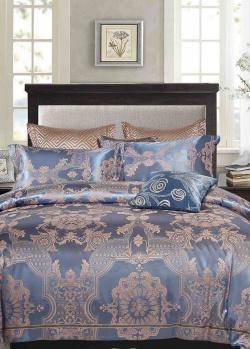 Двуспальное постельное белье Love You с вышивкой, фото